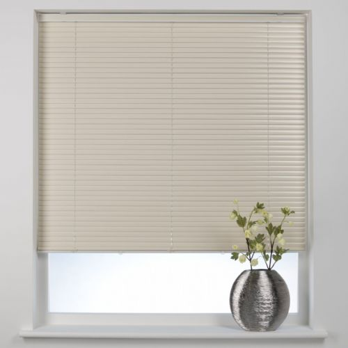Swish Cordless 25mm Aluminium Venetian Blind - Cocoa Butter